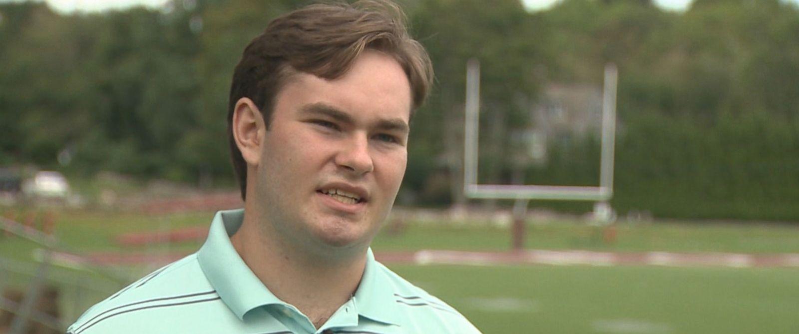 PHOTO: High school senior Paul Houle Jr. credits his Apple Watch with saving his life.
