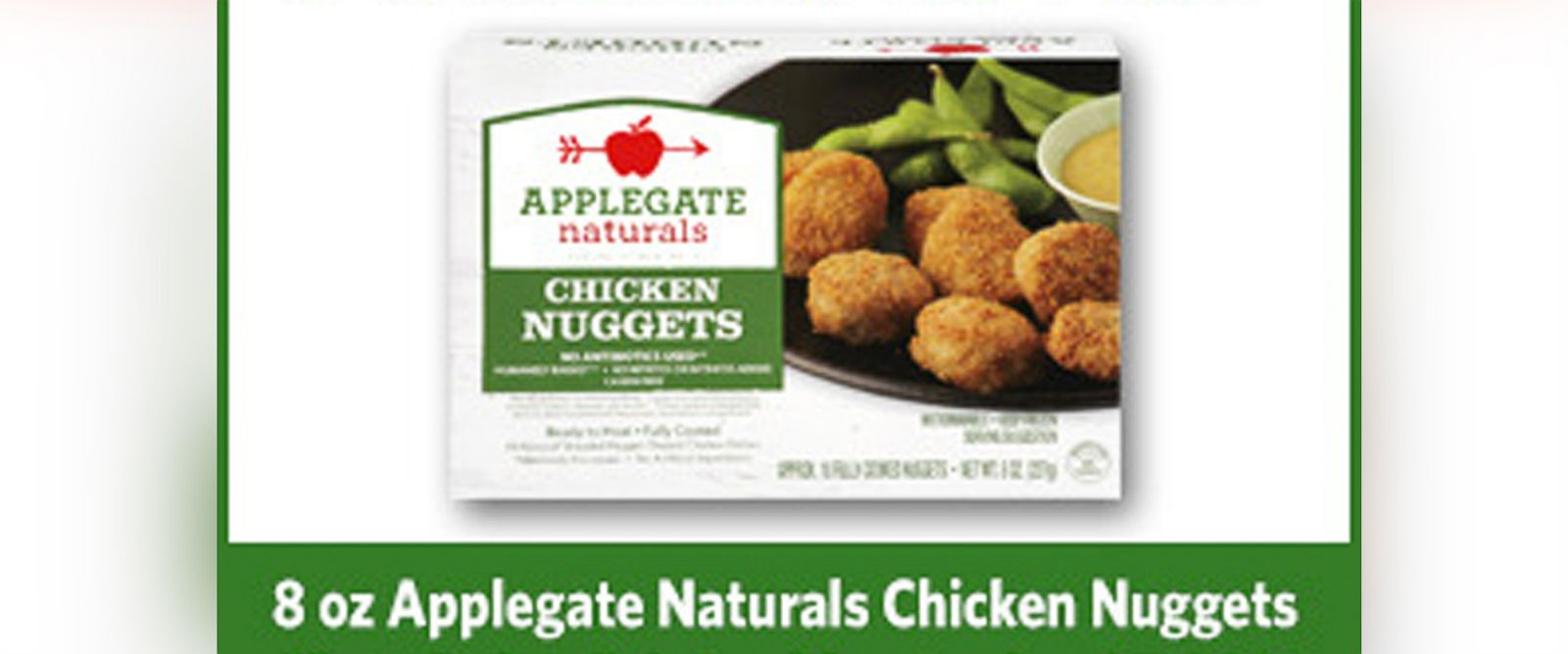 PHOTO: Applegate chicken nuggets are being recalled.