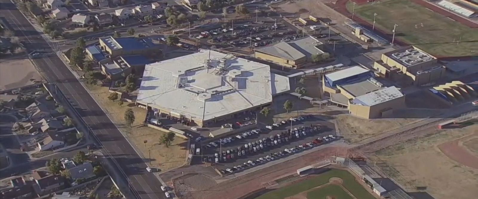 PHOTO:Independence High School in Glendale, Ariz., is seen in this undated file photo.