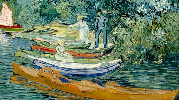 PHOTO: Banks of the Oise at Auvers, Vincent van Gogh