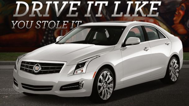 "PHOTO: Cadillacs slogan for their new ad campaign is ""Drive it like you stole it."""