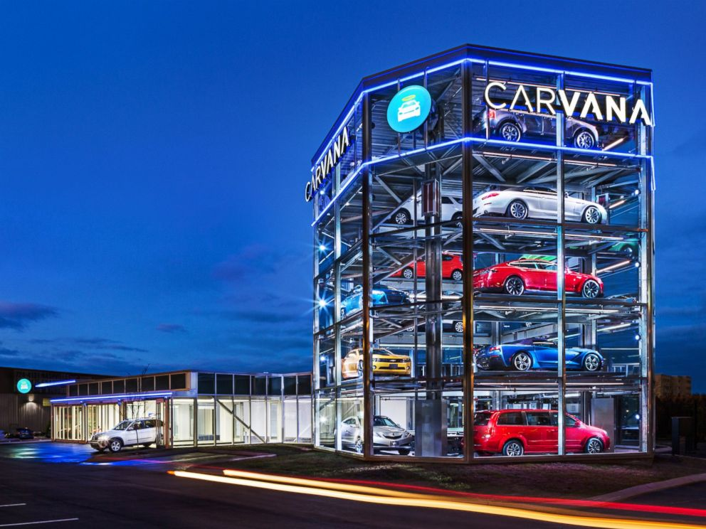 Car Dealerships In Orlando >> Car Company Opens World's First, Fully Automated Car Vending Machine - ABC News