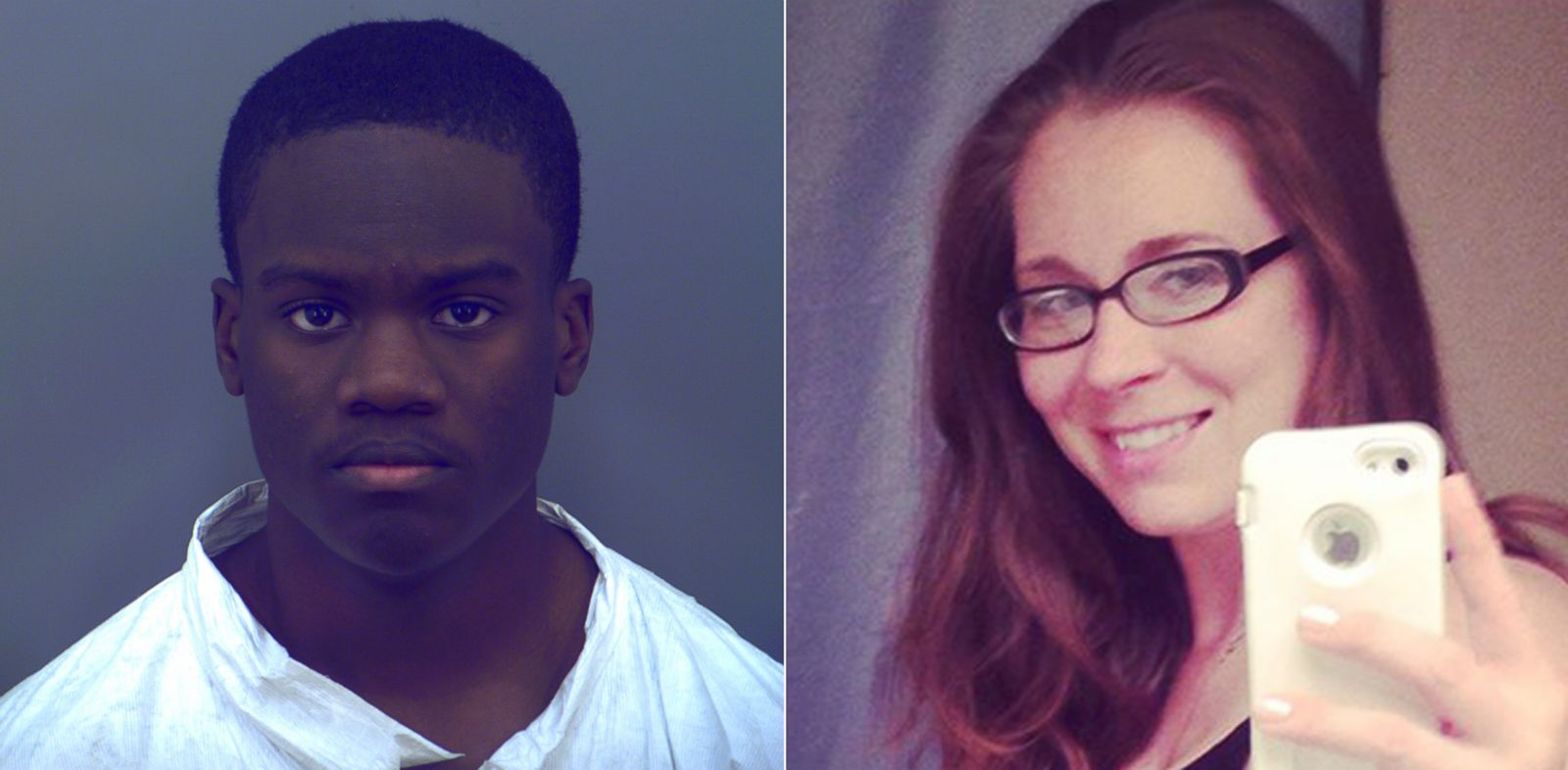 PHOTO: El Paso Police have arrested 19-year-old Corey Bernard Moss, left, on a charge of criminal attempted murder after he allegedly attacked a 31-year-old pregnant woman, Rachel Poole, right, inside her home.