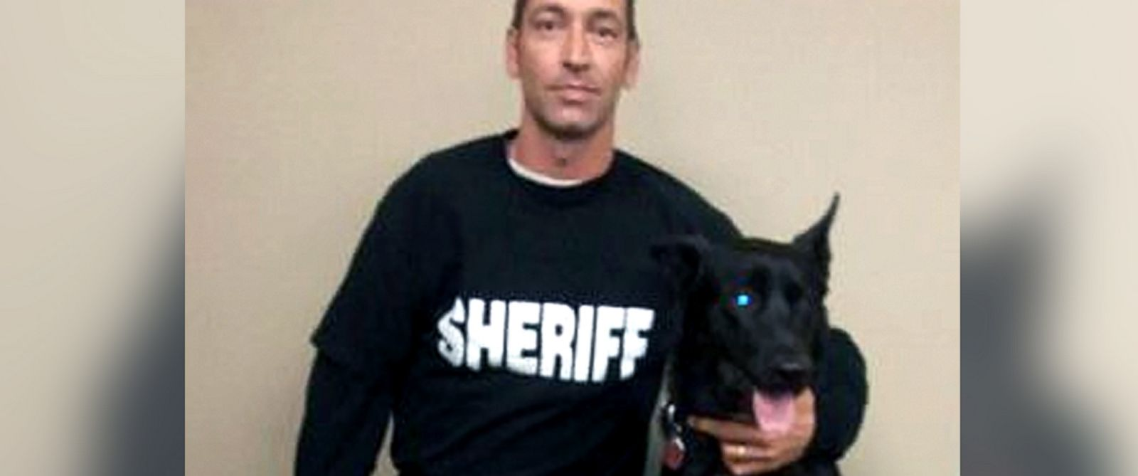 PHOTO: Lucas, a black Belgian Malinois, saved his handler, Deputy Todd Frazier, on Monday when the deputy was ambushed by three men in a remote location.