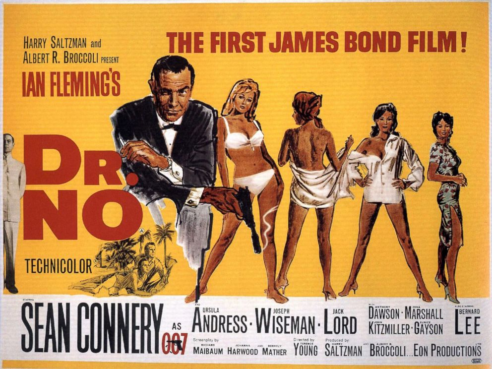 PHOTO: The poster for the James bond movie, Dr. No.