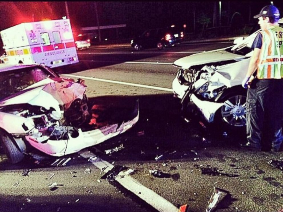 PHOTO: Dwayne Johnson psoted this photo to Instagram, Aug. 10,2014 and tweeted, My mom and cousin were hit head on by a drunk driver. They lived. This was 100% preventable.