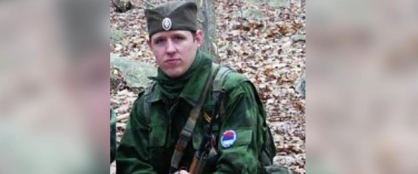 PHOTO: Police said suspect Eric Frein is part of a military simulation group.
