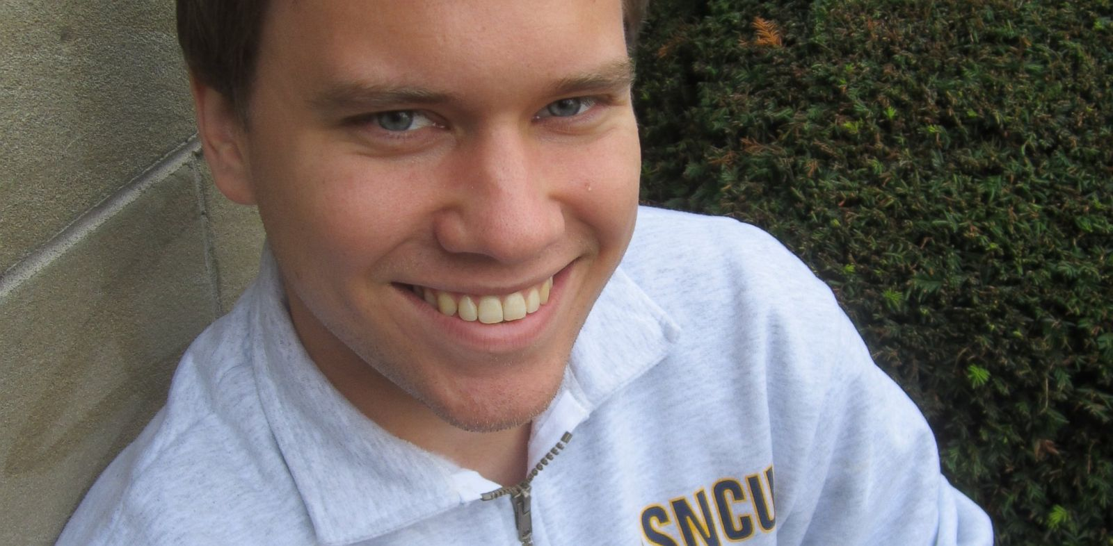 PHOTO: Eric Fromm, a student from a Christian university in Oregon, revealed hes an atheist.