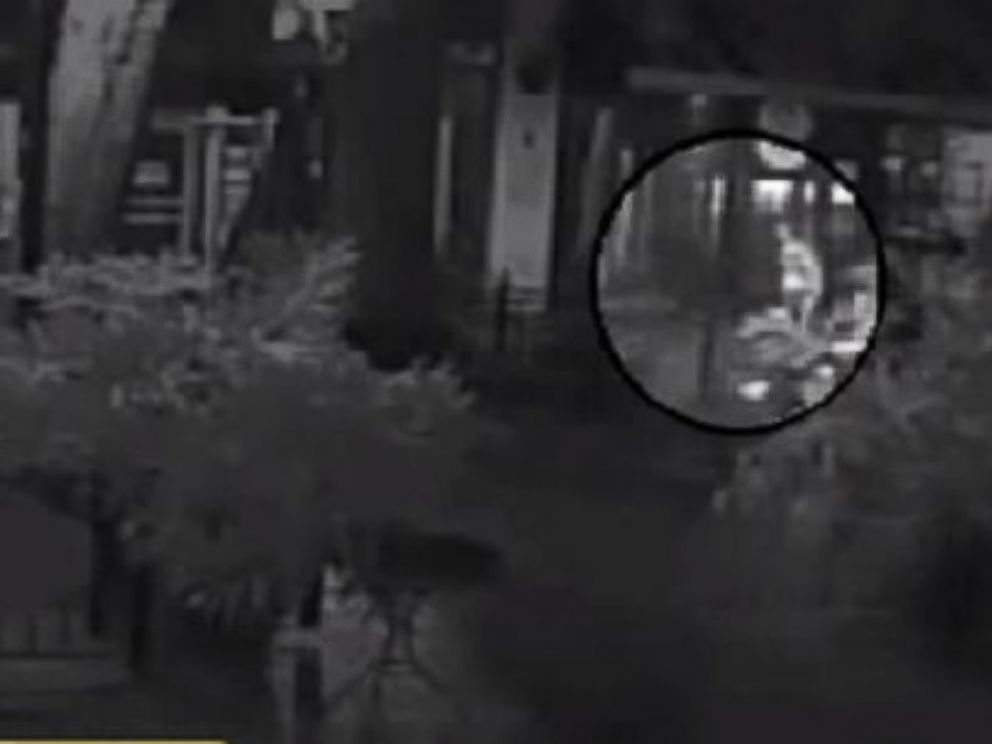 PHOTO: Hannah Graham, pictured at right in surveillance footage released by police Sept. 17, 2014.