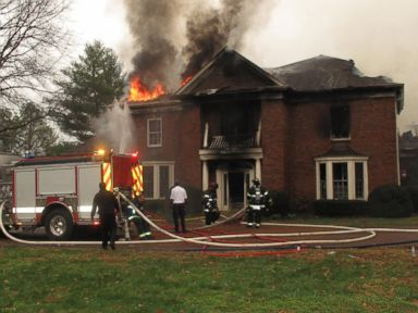 PHOTO: A fire sparked from a hoverboard destroyed a $1 million mansion in Nashville, fire officials said.