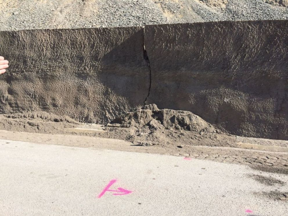 PHOTO: Significant damage from a rockslide in Jackson, Wyoming is shown in this photo from the Town of Jackson.