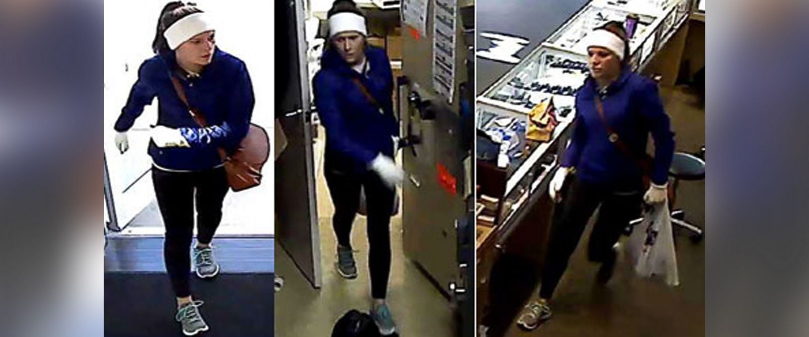 PHOTO: The FBI released these photos on Jan. 5, 2016, of the suspect wanted in connection with several jewelry store thefts.