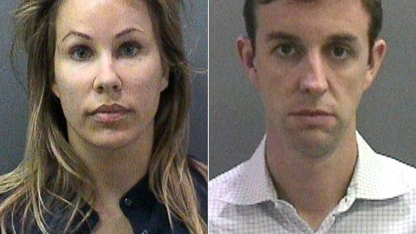 PHOTO: Jill Easter and her husband Kent Easter were charged with tricking police into falsely apprehending Kelli Peters, then president of the PTA at their sons elementary school.