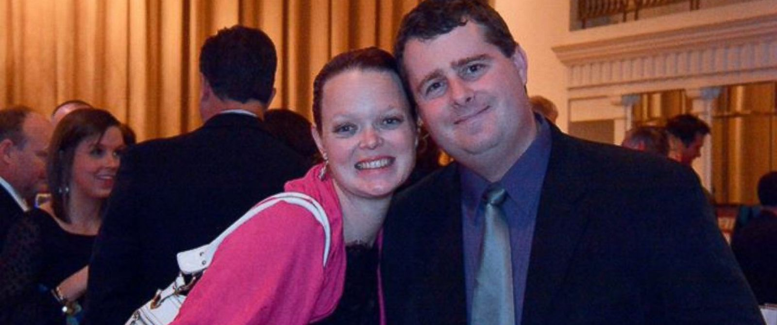 PHOTO: Ken Gemmell and his wife Marie, who died when a plane crashed through their home.