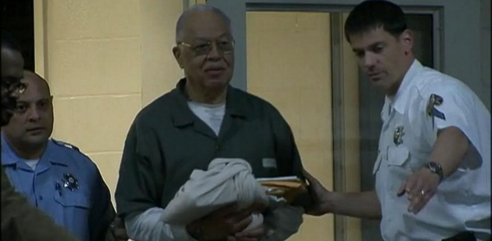PHOTO: Dr. Kermit Gosnell is escorted into a van after his guilty verdict was read to him on May 13, 2013, in Philadelphia.