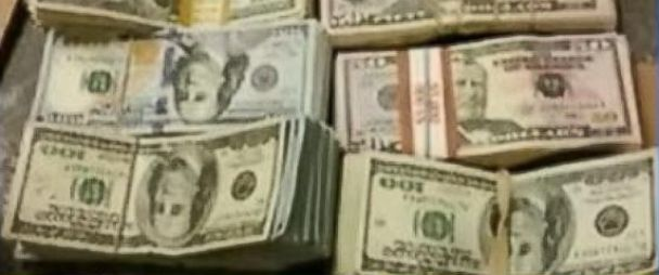 PHOTO: A bag filled with $100,000 was found in a San Jose, Calif., Burger King
