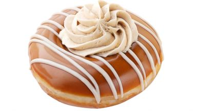 PHOTO: The Caramel Coffee Kreme Doughnut, from Krispy Kreme, available for a limited time.