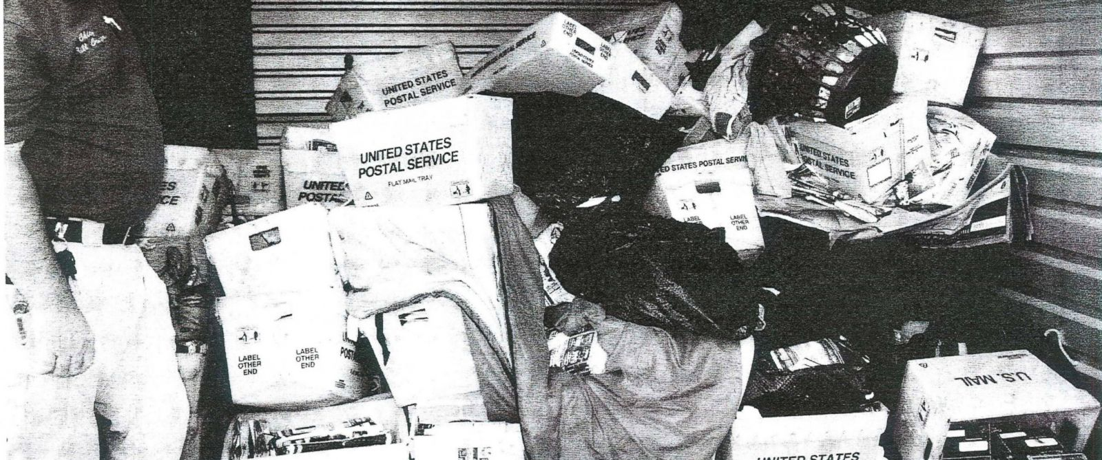 PHOTO: A photo of the undelivered mail hidden by Kentucky mailman William Morse.