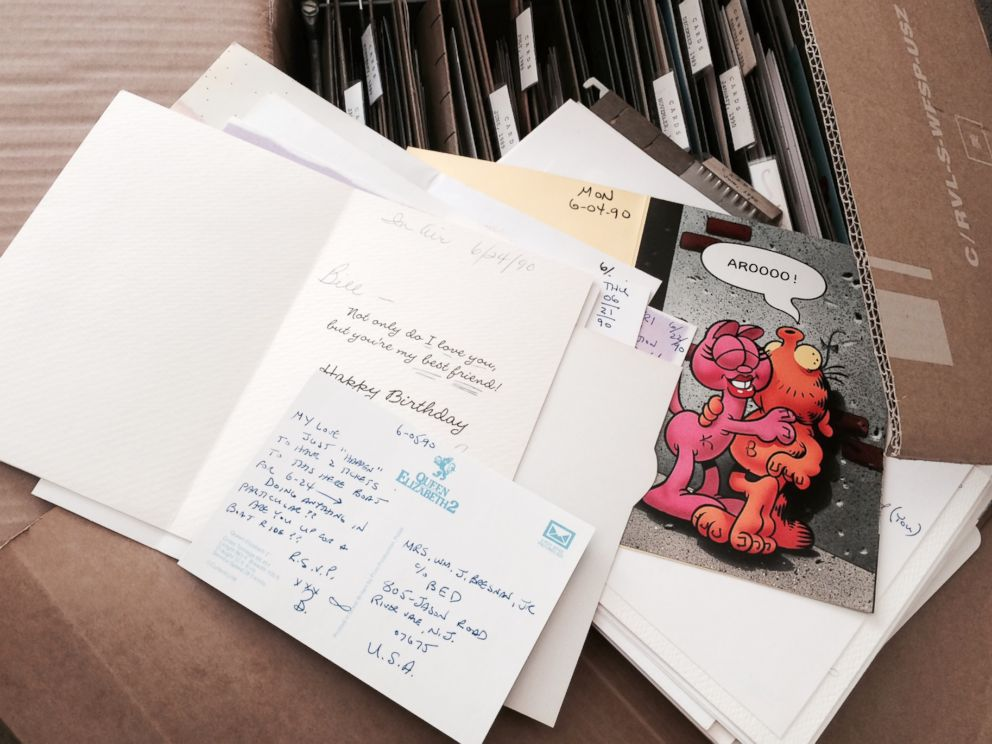 PHOTO: Bill Bresnan has written a love letter every day to his wife Kirsten Bresnan.