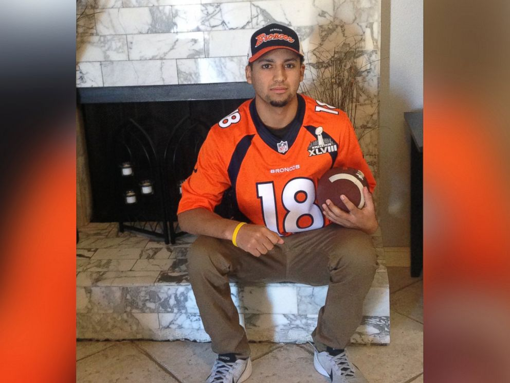 PHOTO: Matthew Vega is among the 14 kids the Make-A-Wish Foundation is sending to Super Bowl 50 in Santa Clara, California.