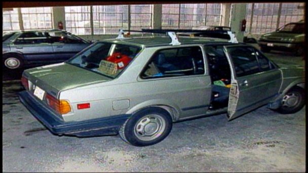 PHOTO: This is an evidence photo of the car Mary Kay Letourneau and Vili Fualaau were caught in together while she was on parole in 1997.