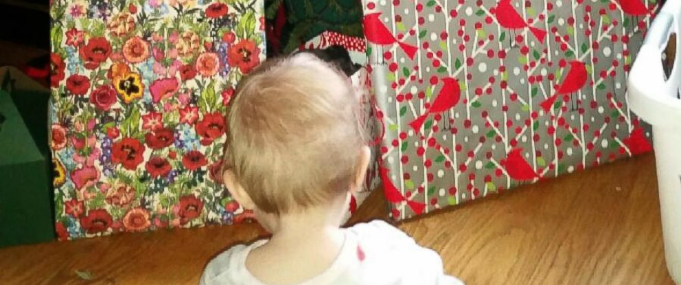 """PHOTO: Molly Hodges was able to get presents for her children through the """"Buy Nothing"""" group"""