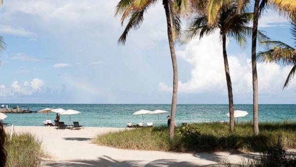 PHOTO: Haulover Beach, Miami.