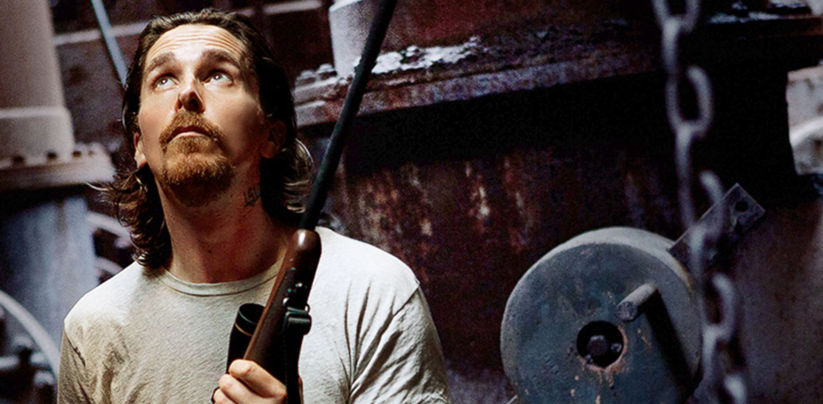 "PHOTO: Christian Bale is seen in a still from the movie, ""Out of the Furnace."""