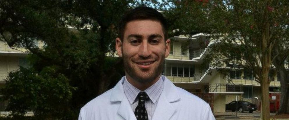 PHOTO: Peter Gold, 25, a fourth-year Tulane University medical student, was shot in New Orleans, Nov. 20, 2015.