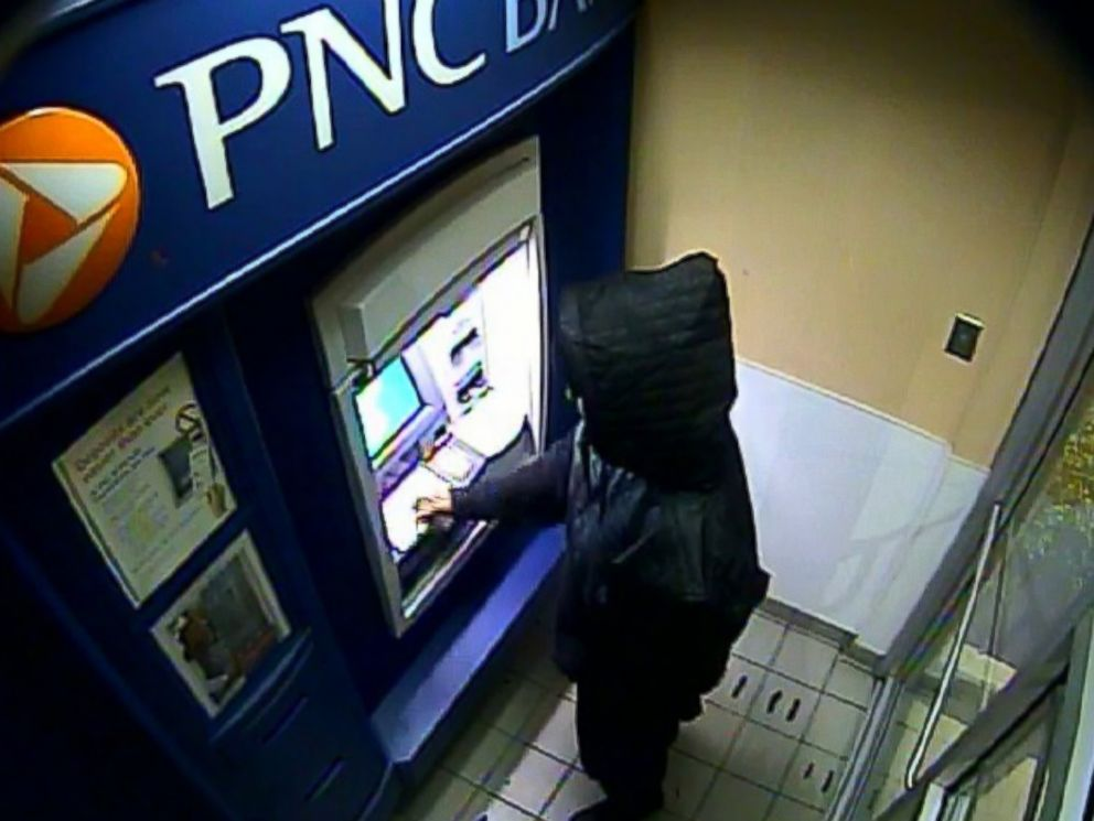 PHOTO: Police said the ATM card was used at a PNC bank in Maryland. Philadelphia police have not identified the man in the pictures as a suspect.