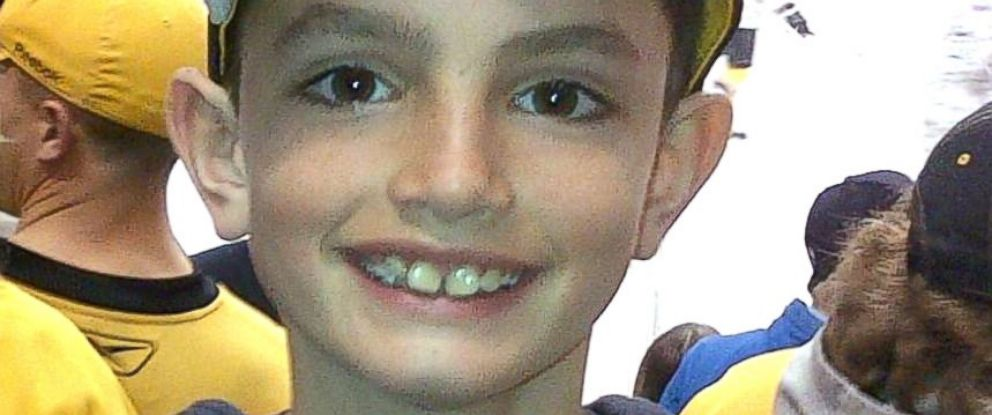 PHOTO: This photo of Martin Richard was taken at the Boston Bruins game, April 11, 2013, in Boston. Martin attended the game with his father and brother.