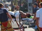 PHOTO: A man was attacked by a shark just south of Manhattan Beach Pier in Los Angeles, Calif., July 5, 2014.