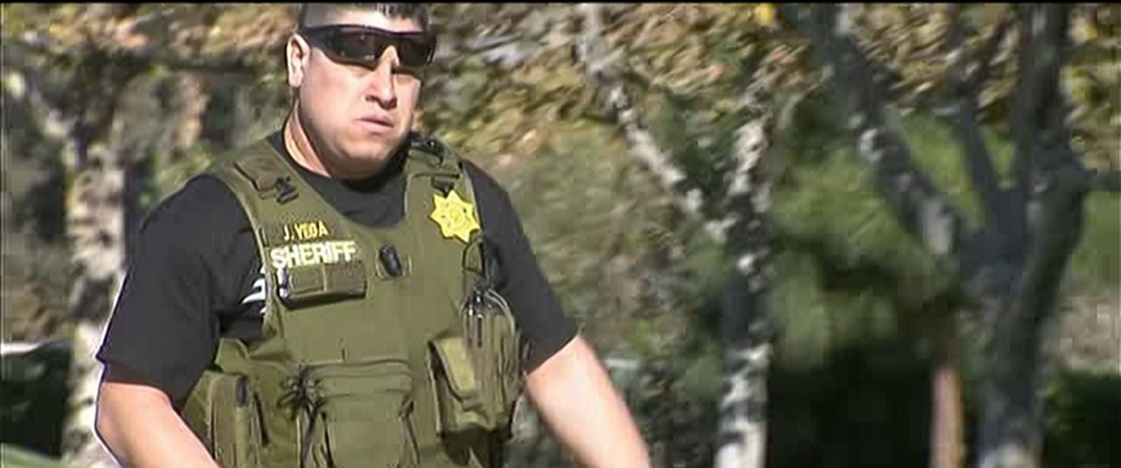 "Police respond to an active shooter"" situation in San Bernadino, Calif., Dec. 2, 2015."