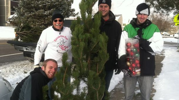 PHOTO: NOCO Shares volunteers delivered 350 Christmas trees to northern Colorado families in need on Dec. 7, 2013