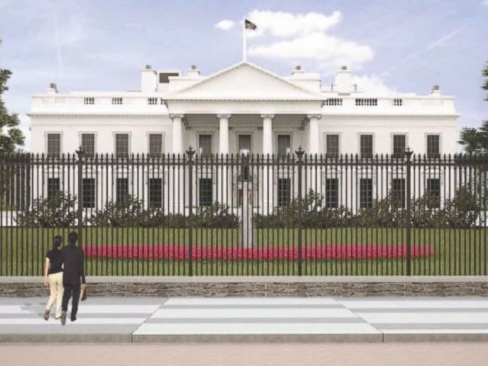 White house fence re design proposal unveiled by secret
