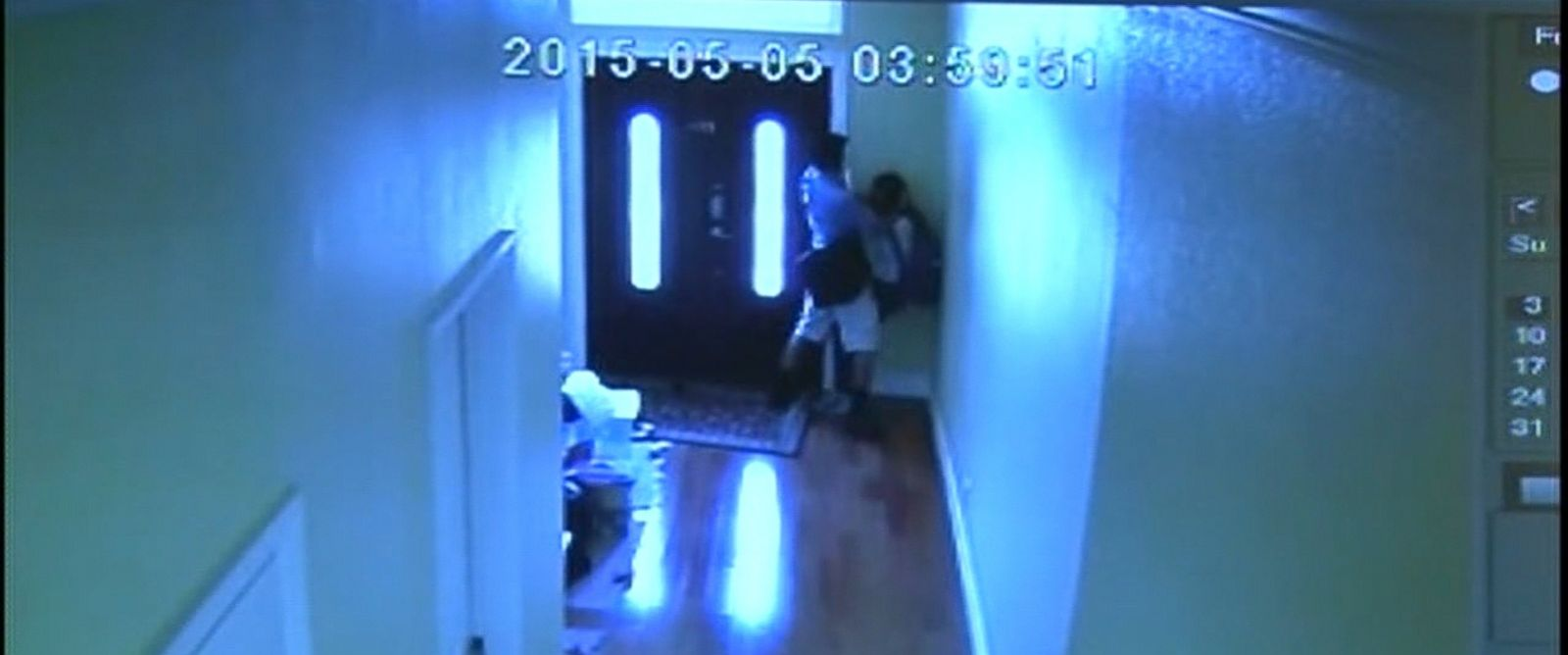 PHOTO: A 13-year-old middle school student fought off a man who was caught on surveillance video trying to assault her in her California home.
