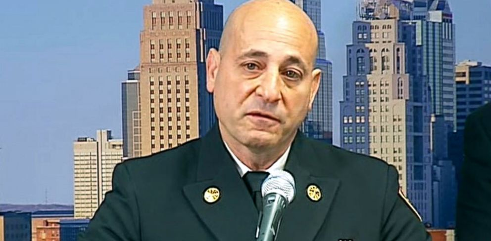 PHOTO: Kansas City Fire Chief Paul Berardi identified two firefighters killed in a blaze.