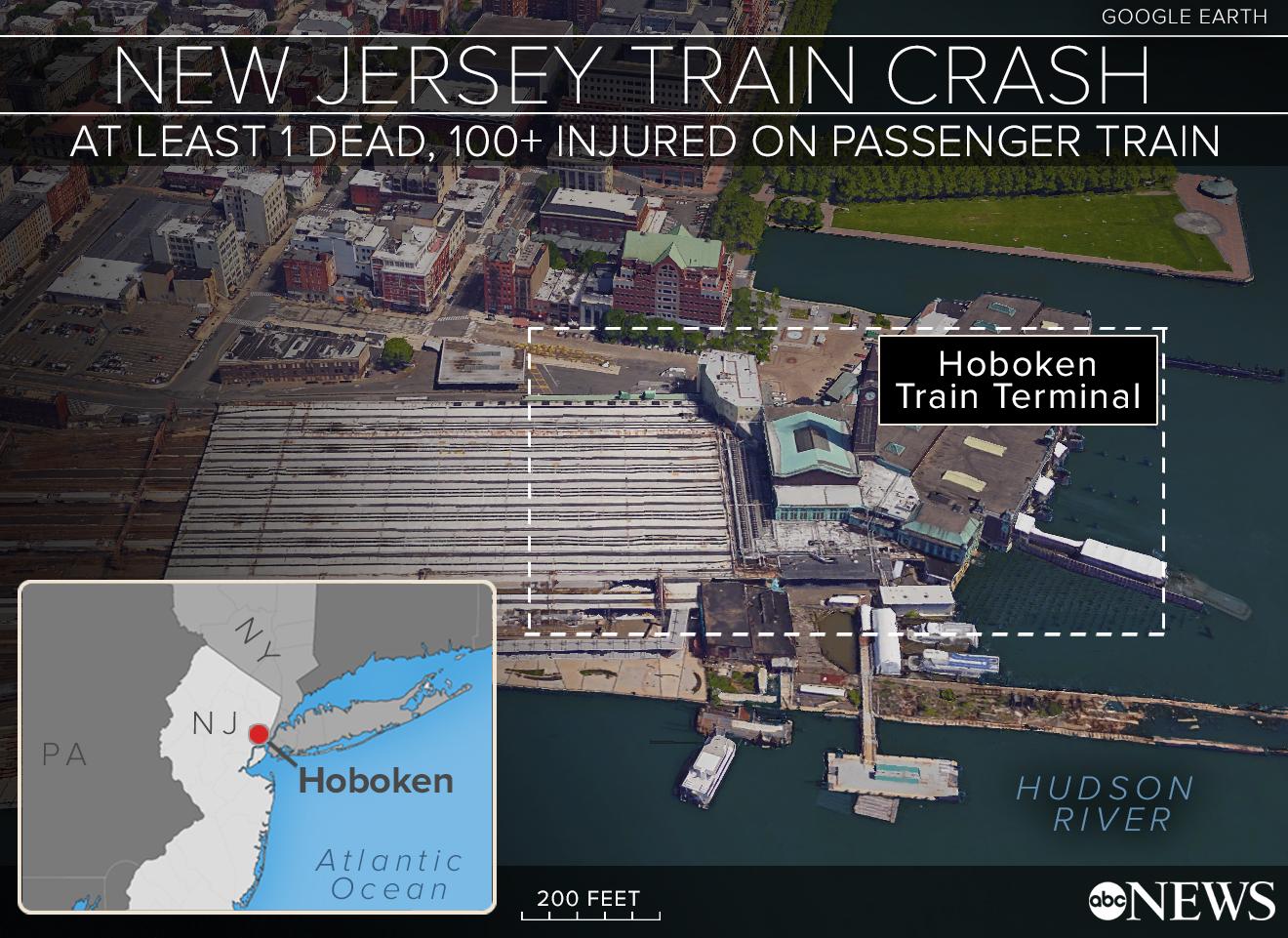 NJ Transit Passengers Said Crash 'Sounded Like a Bomb' - ABC News