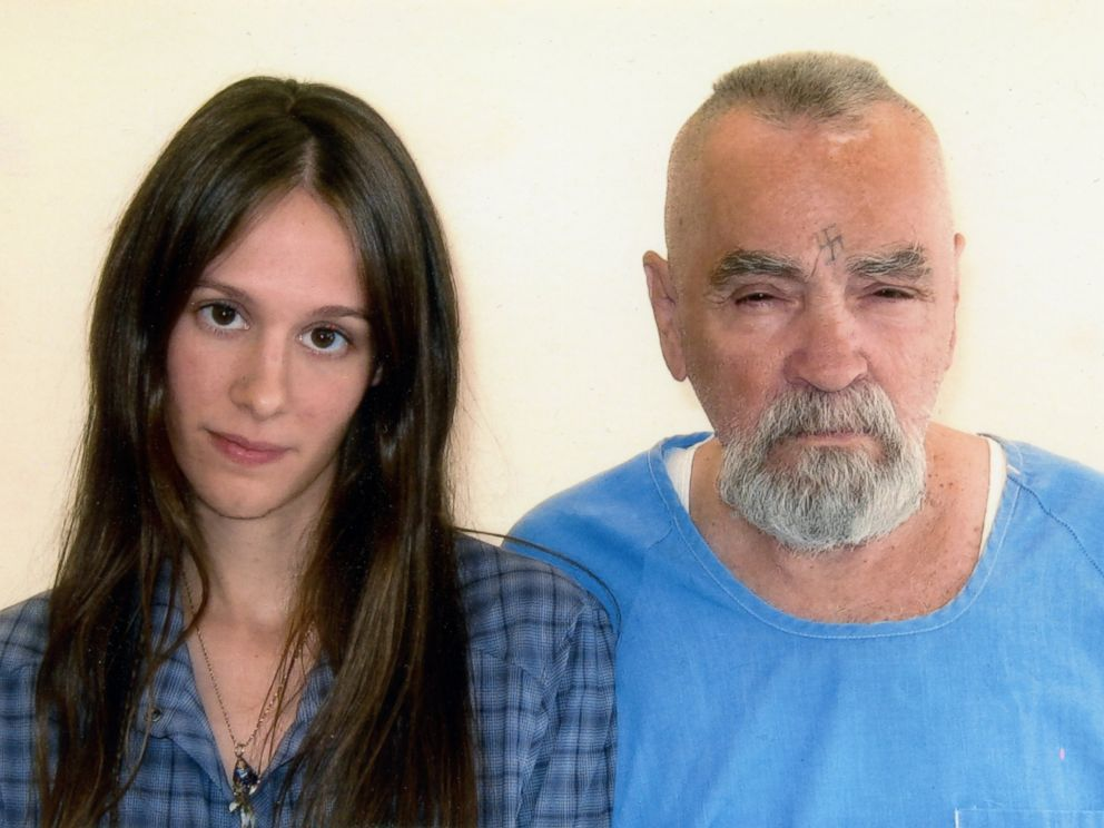 PHOTO: Charles Manson and Star are photographed together, Aug. 14, 2011.