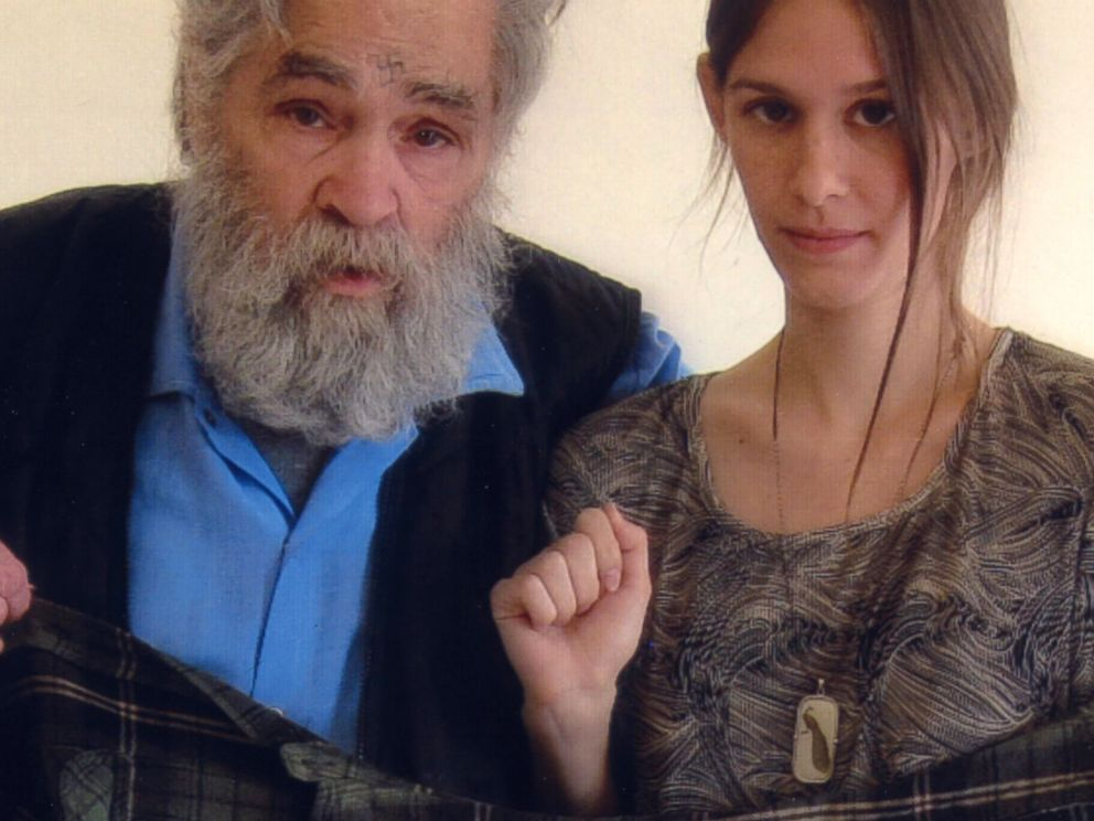 PHOTO: Charles Manson is photographed with Star, March 27, 2011.