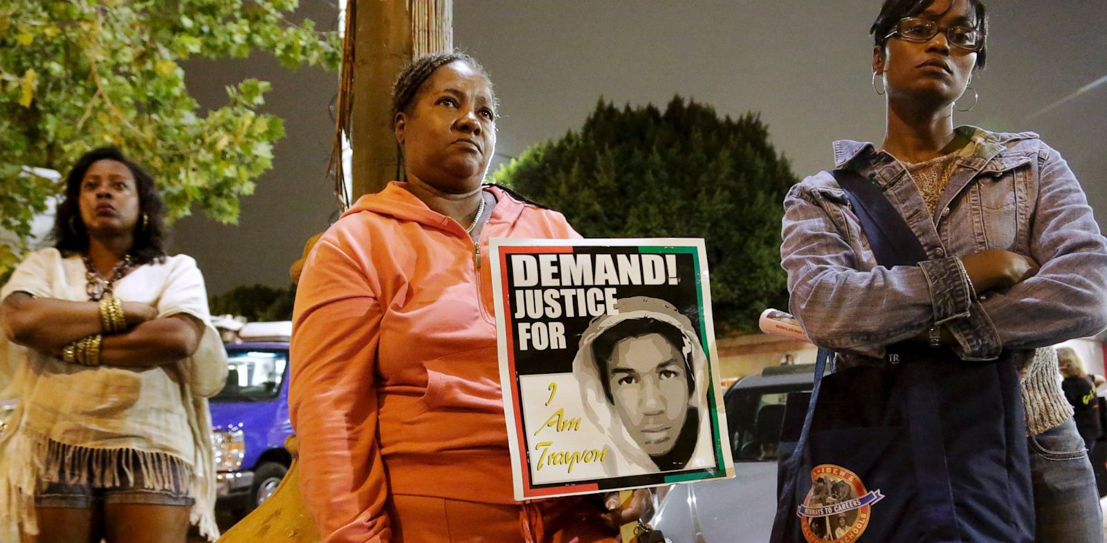 PHOTO: Rally following George Zimmerman verdict in Los Angeles