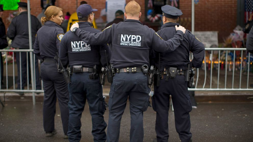 Nyc Police Threatened 40 Times Since 2 Cops Killed Abc News