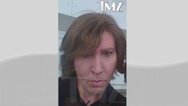 "PHOTO: Marilyn Manson on the set of ""Eastbound & Down"""