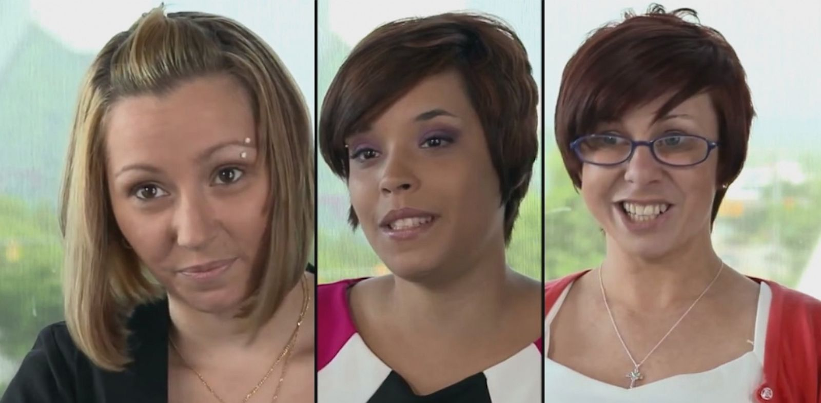 PHOTO: Amanda Berry, Gina DeJesus and Michelle Knight posted a video on YouTube to offer thanks for the support they have received.