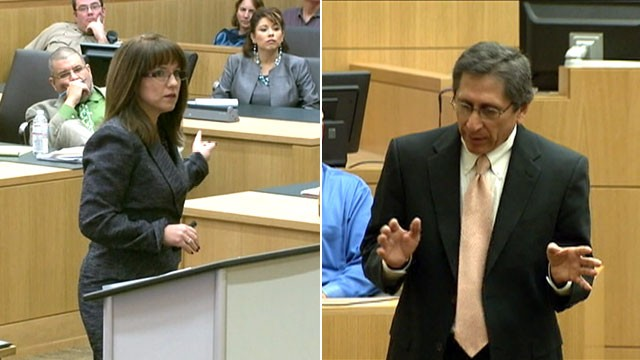 ... Juan Martinez deliver opening statements in the trial of Jodi Arias