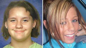 Missing kids - Kayleah Wilson and Brittanee Drexel.