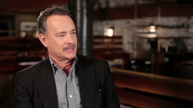 PHOTO: Tom Hanks sat down with ABC News Bob Woodruff to share his thoughts on his movies and wars in Iraq and Afghanistan.