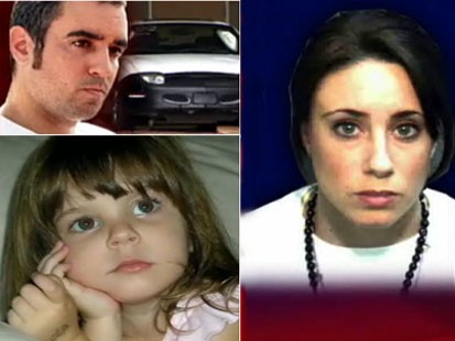 Picture of Lee, Caylee and Casey Anthony.