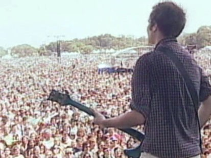 Picture of concert performance at Austin City Limits.