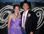 PHOTO:Alaina, pictured here at prom with Montana, has big dreams.